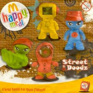 Happy meal Street doodz